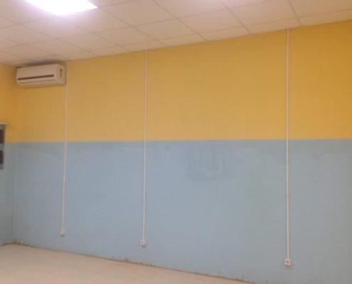 красим стены в коммерческих помещениях
